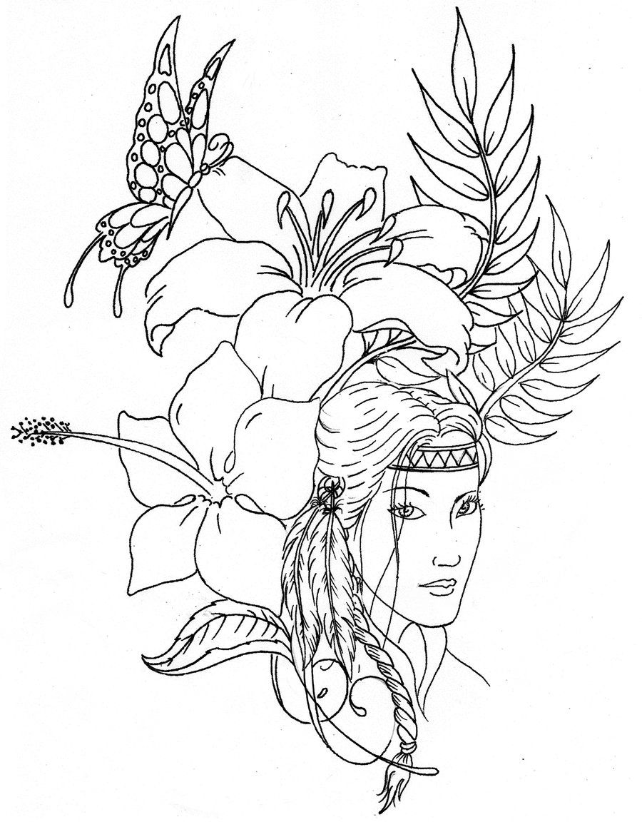 free native american indian coloring pages indians coloring pages free american indian pages coloring native