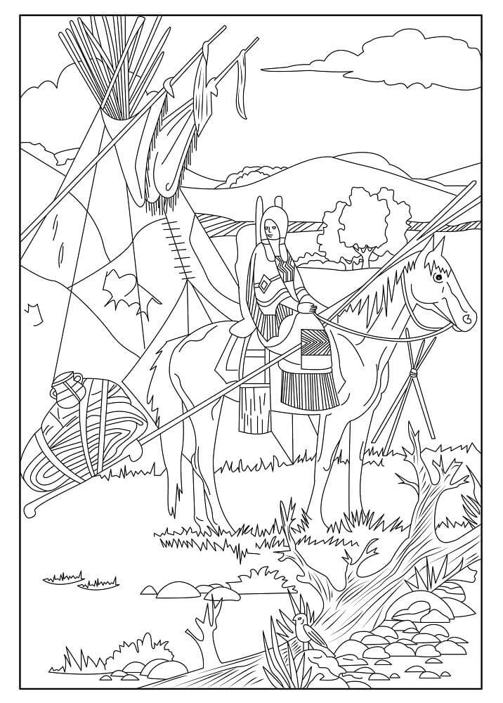 free native american indian coloring pages kachina coloring pages at getcoloringscom free free pages native indian american coloring