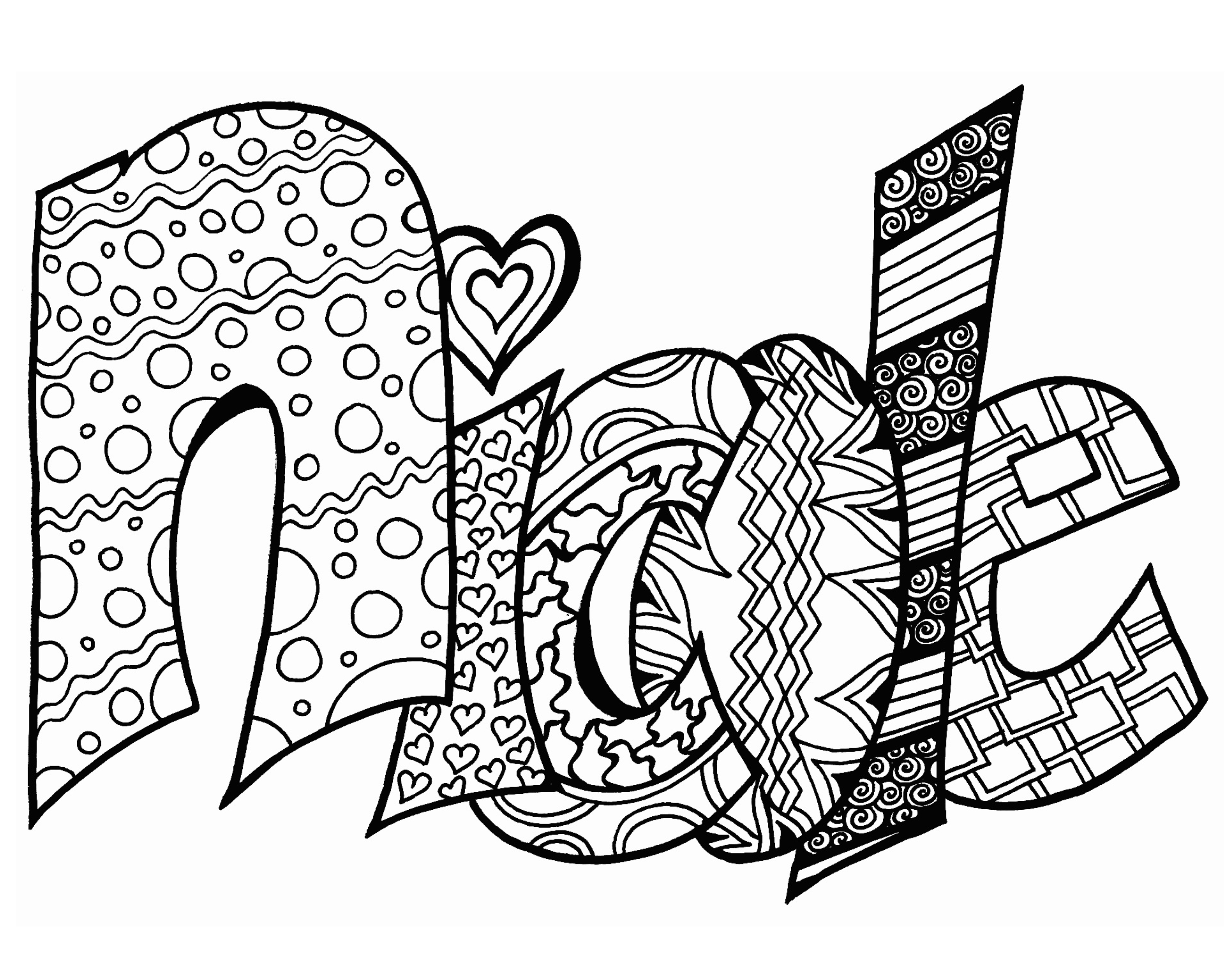 free personalized name coloring pages kids name coloring pages at getcoloringscom free pages free coloring personalized name