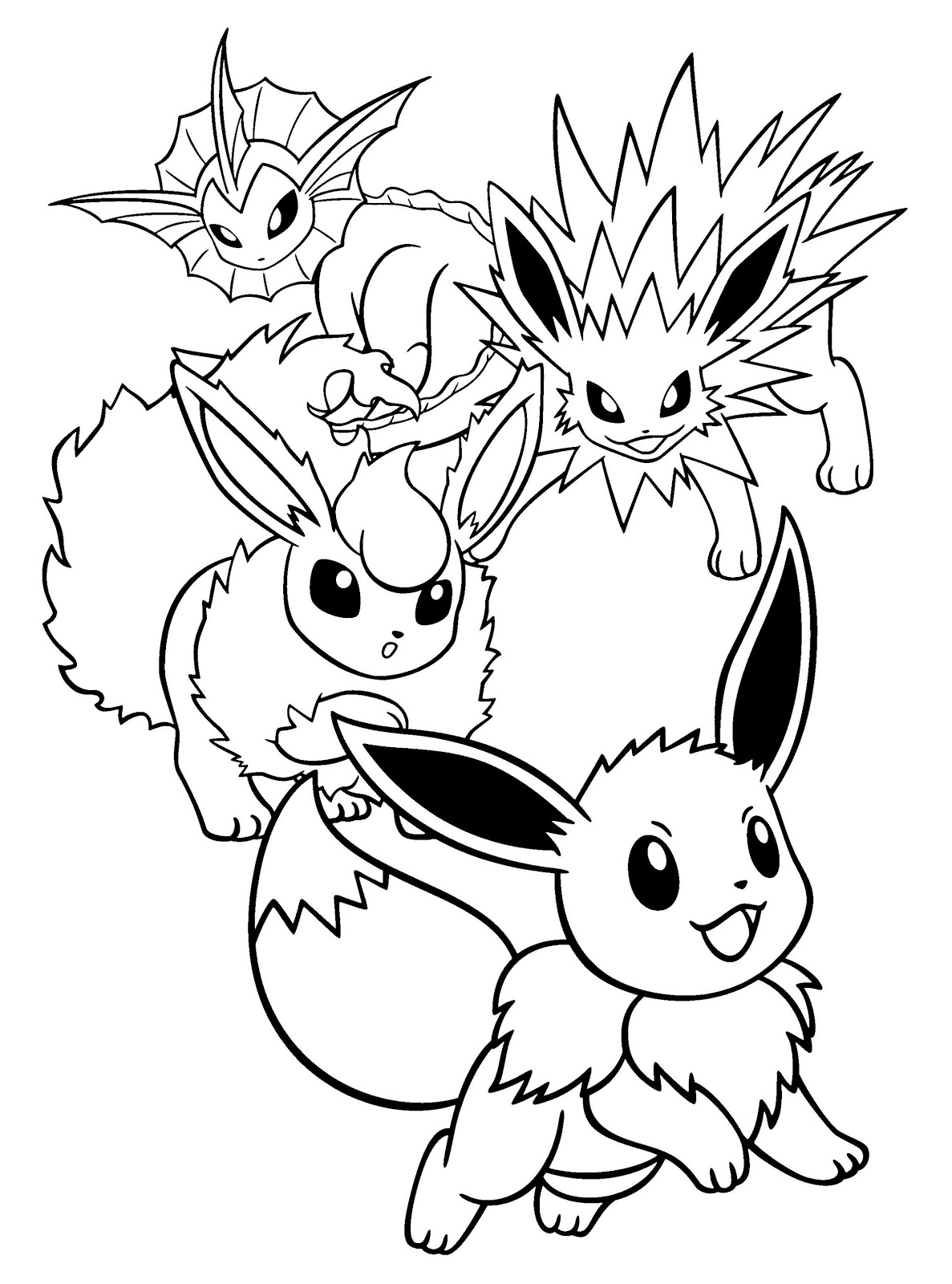free pokemon printable coloring pages grass type pokemon coloring pages at getcoloringscom pokemon coloring pages printable free
