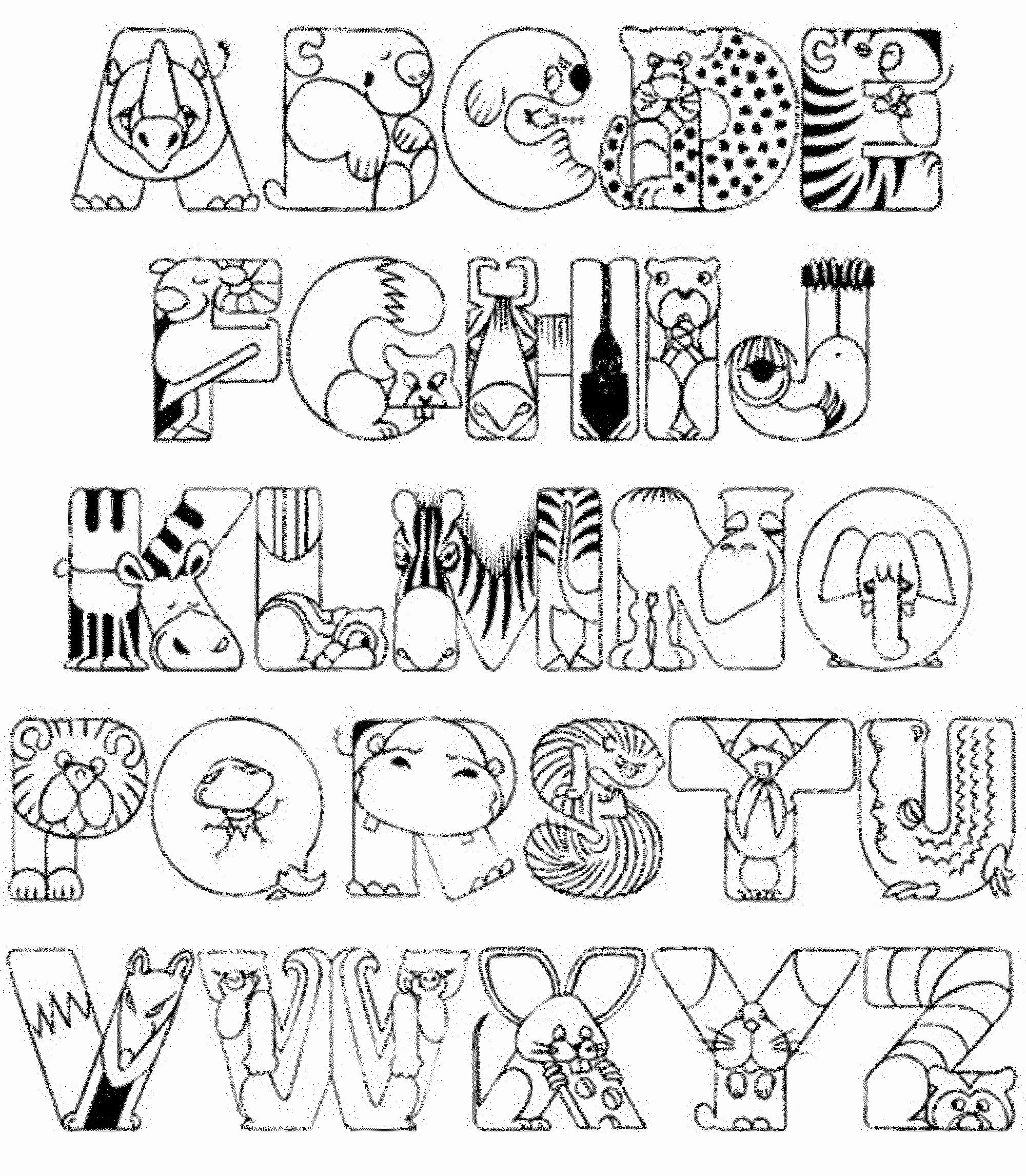 free printable alphabet coloring pages here39s a set of printable alphabet letters to download and printable coloring free pages alphabet