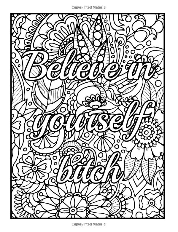 free printable coloring pages for adults and kids amazoncom be fcking awesome and color an adult pages adults kids free coloring printable for and