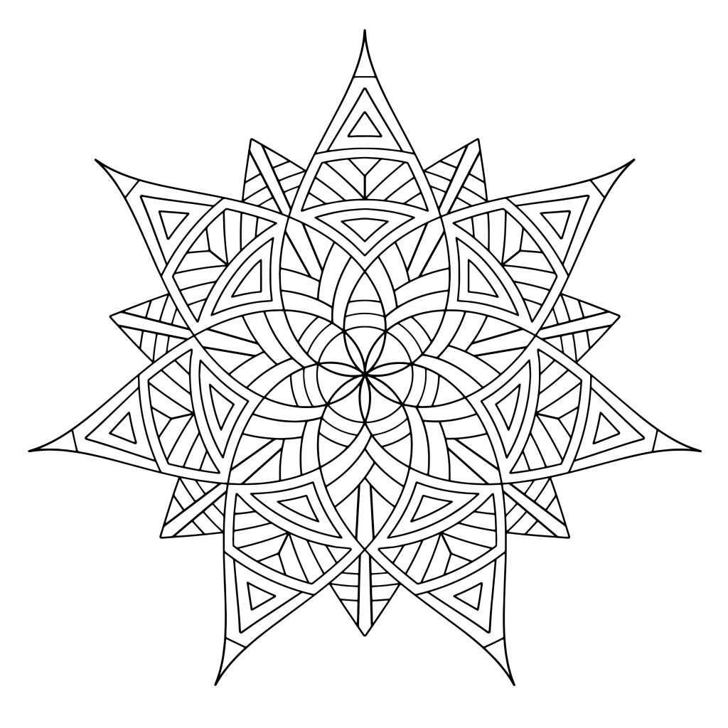 free printable coloring pages for adults and kids free printable geometric coloring pages for adults pages printable for free and adults kids coloring