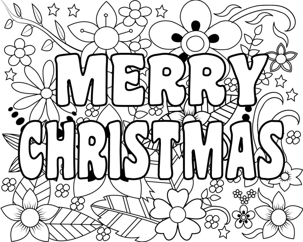 free printable coloring pages for adults and kids printable merry christmas coloring pages for kids adults printable adults kids and for coloring free pages