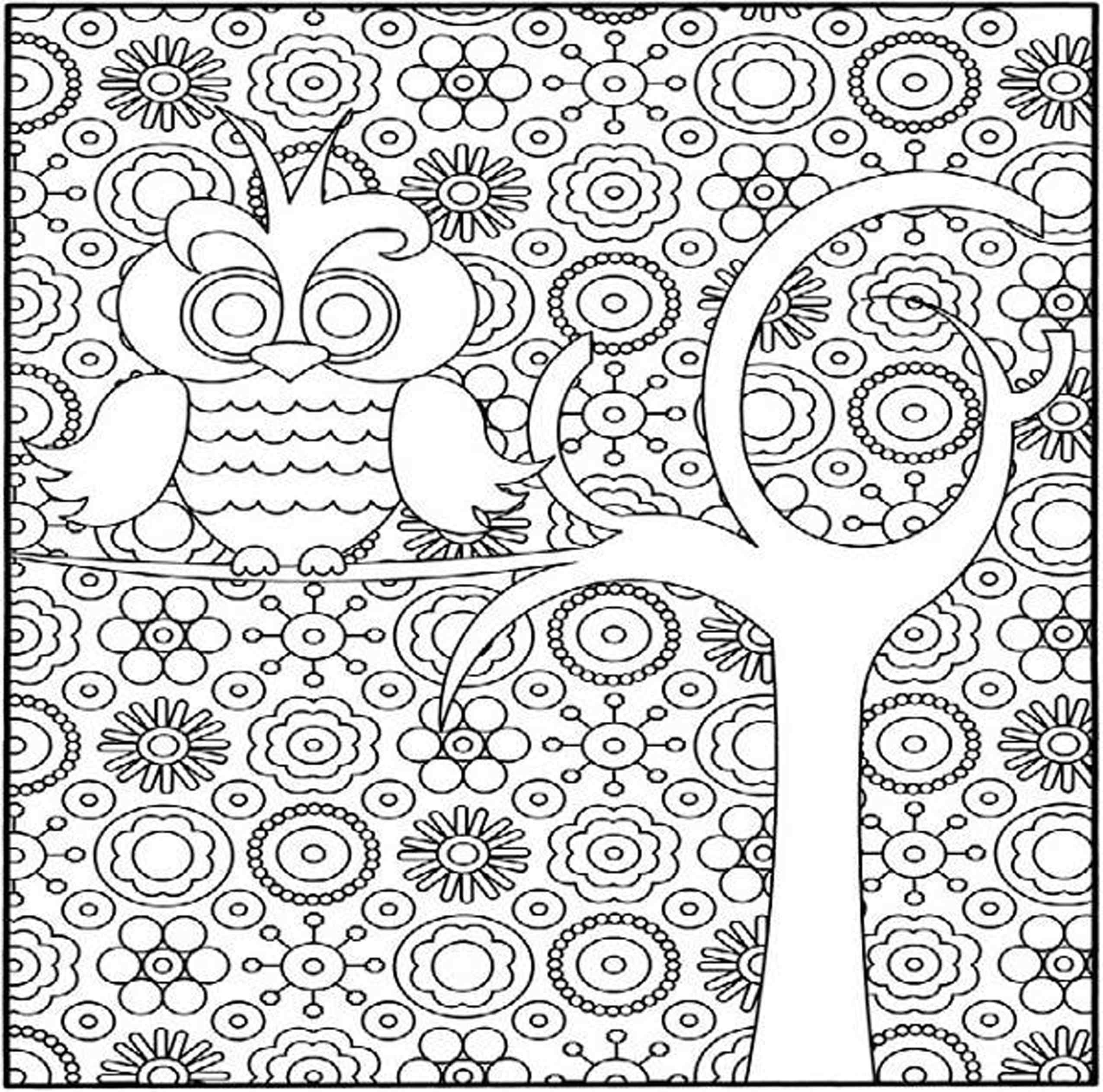 free printable coloring pages for adults and kids really hard detailed coloring pages coloring home for adults pages kids and coloring printable free