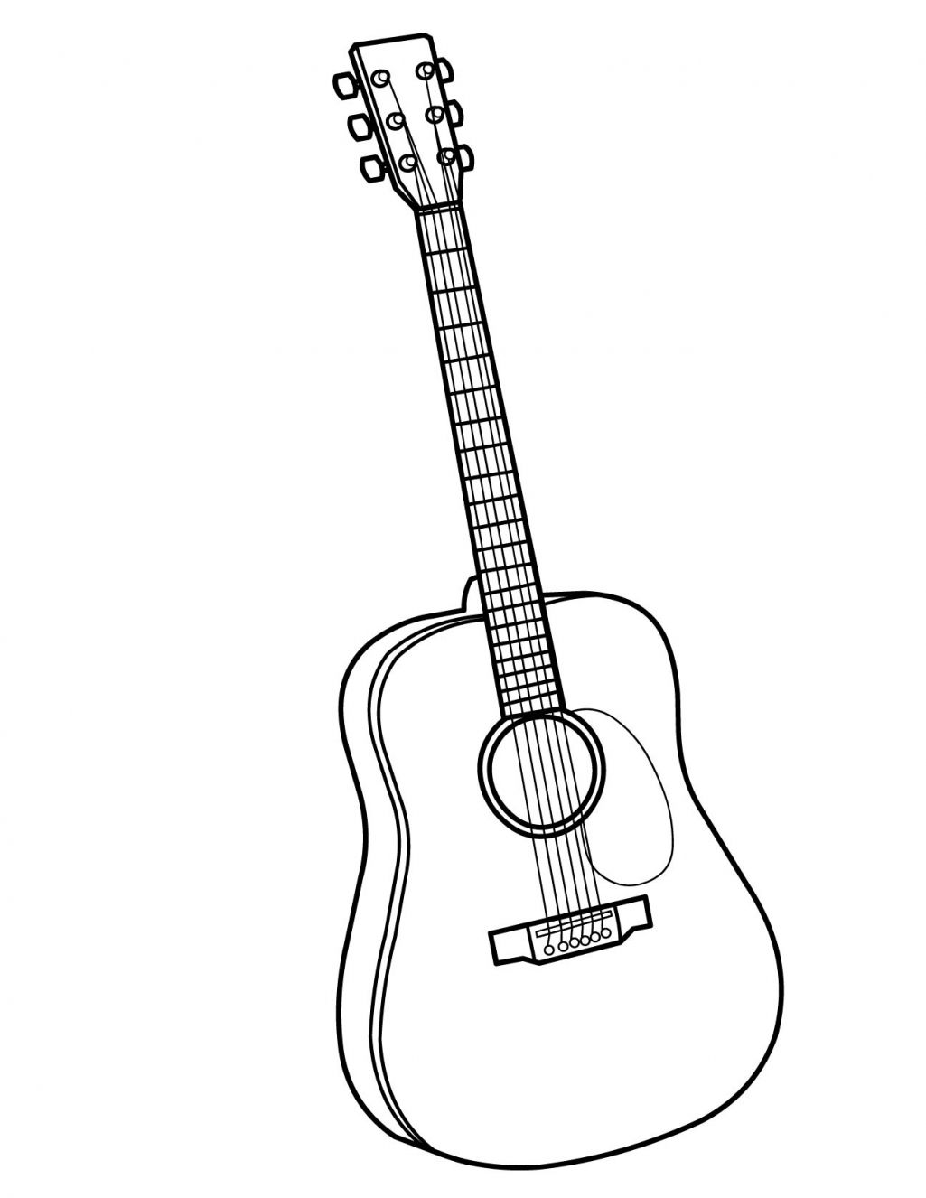 free printable coloring pages of musical instruments gutair colouring pages printable colouring pictures of coloring musical printable instruments free of pages