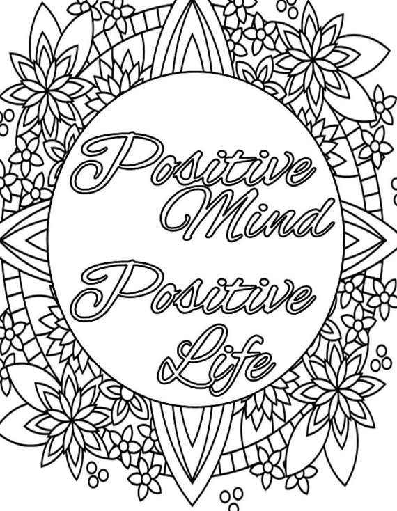 free printable coloring quotes inspirational coloring pages to download and print for free printable coloring free quotes