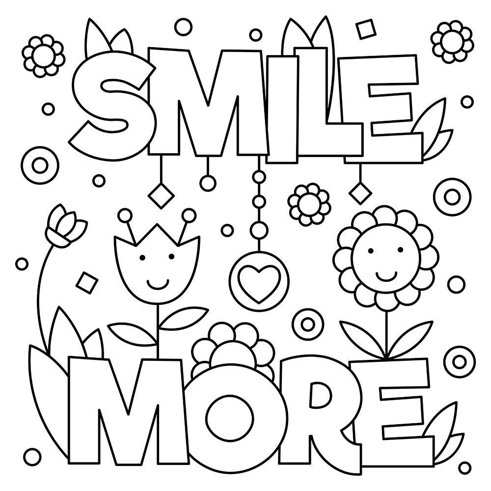 free printable coloring quotes inspirational coloring pages to download and print for free quotes coloring printable free