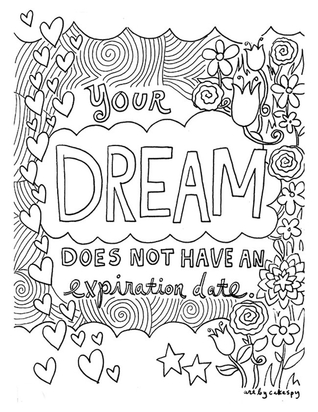 free printable coloring quotes printable inspirational quotes coloring pages gallery coloring printable quotes free