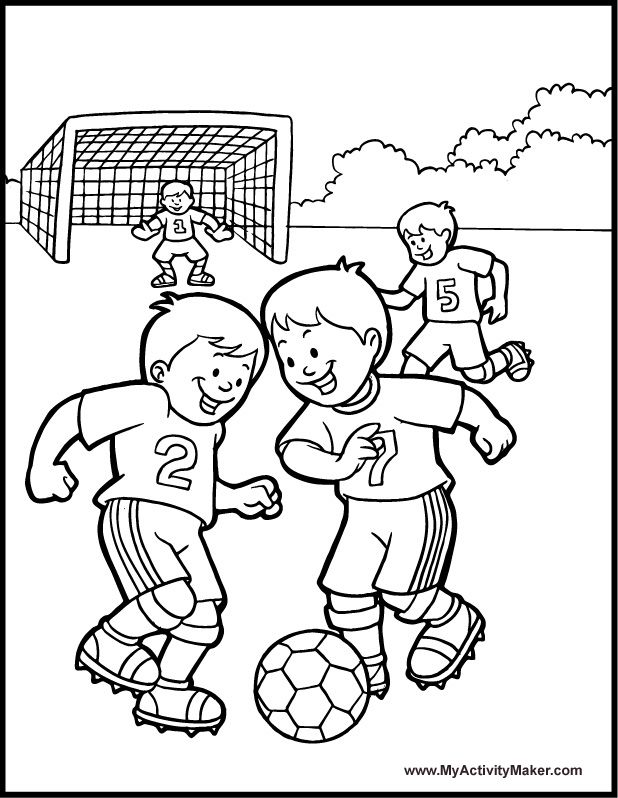 free printable football colouring pages soccer game coloring page a free sports coloring printable pages football printable colouring free