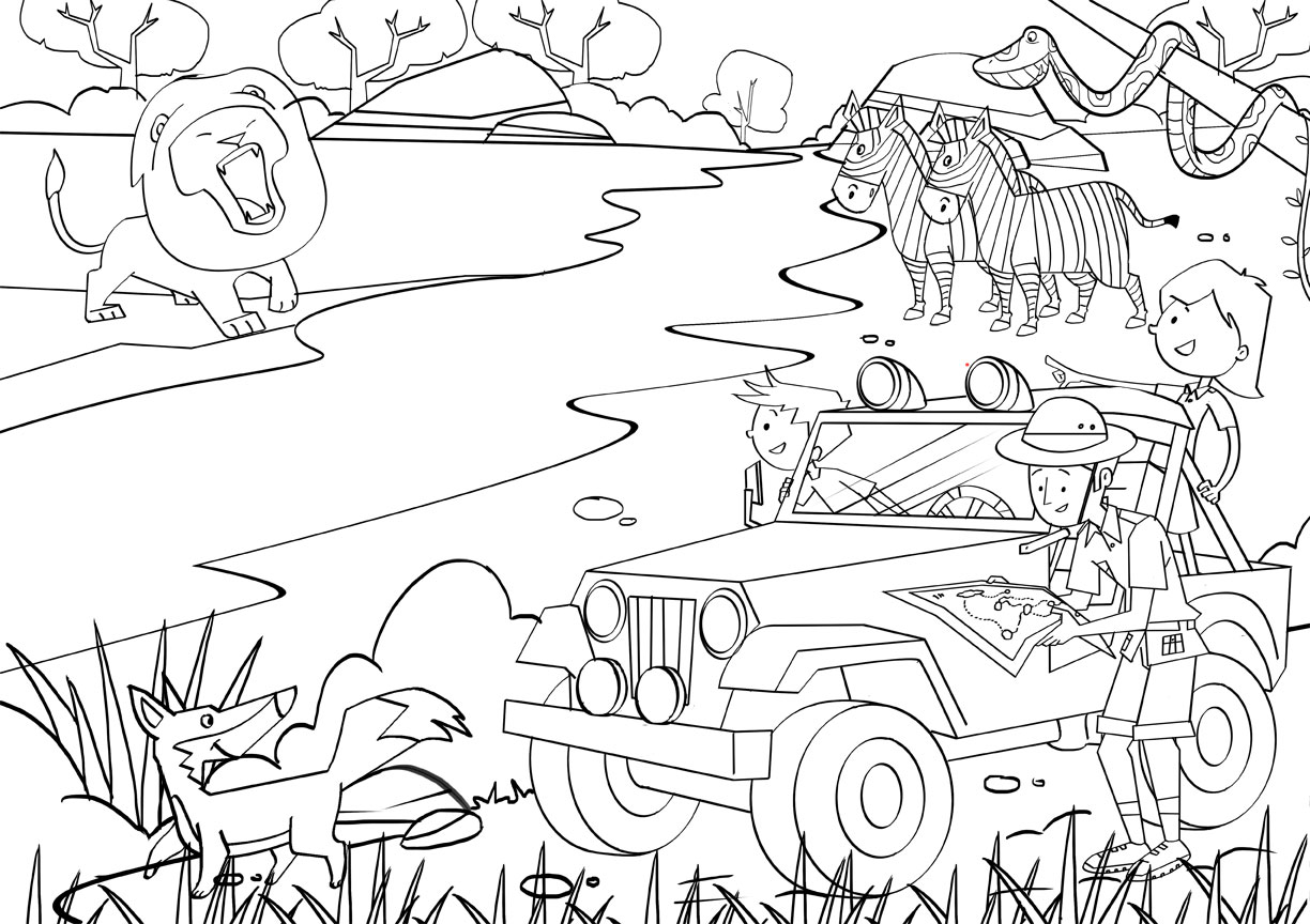 free printable jungle coloring pages jungle coloring pages 22 coloring kids coloring pages free jungle printable