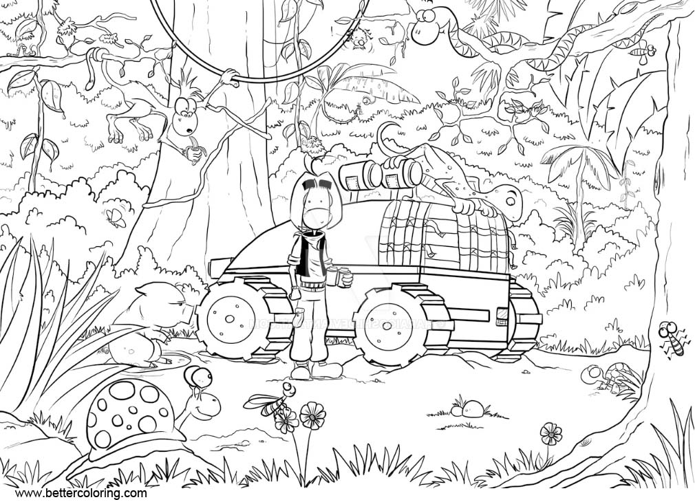 free printable jungle coloring pages jungle coloring pages to download and print for free free jungle pages printable coloring