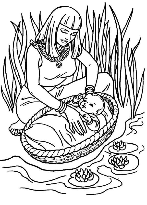 free printable moses coloring pages download or print this amazing coloring page moses found printable free pages coloring moses