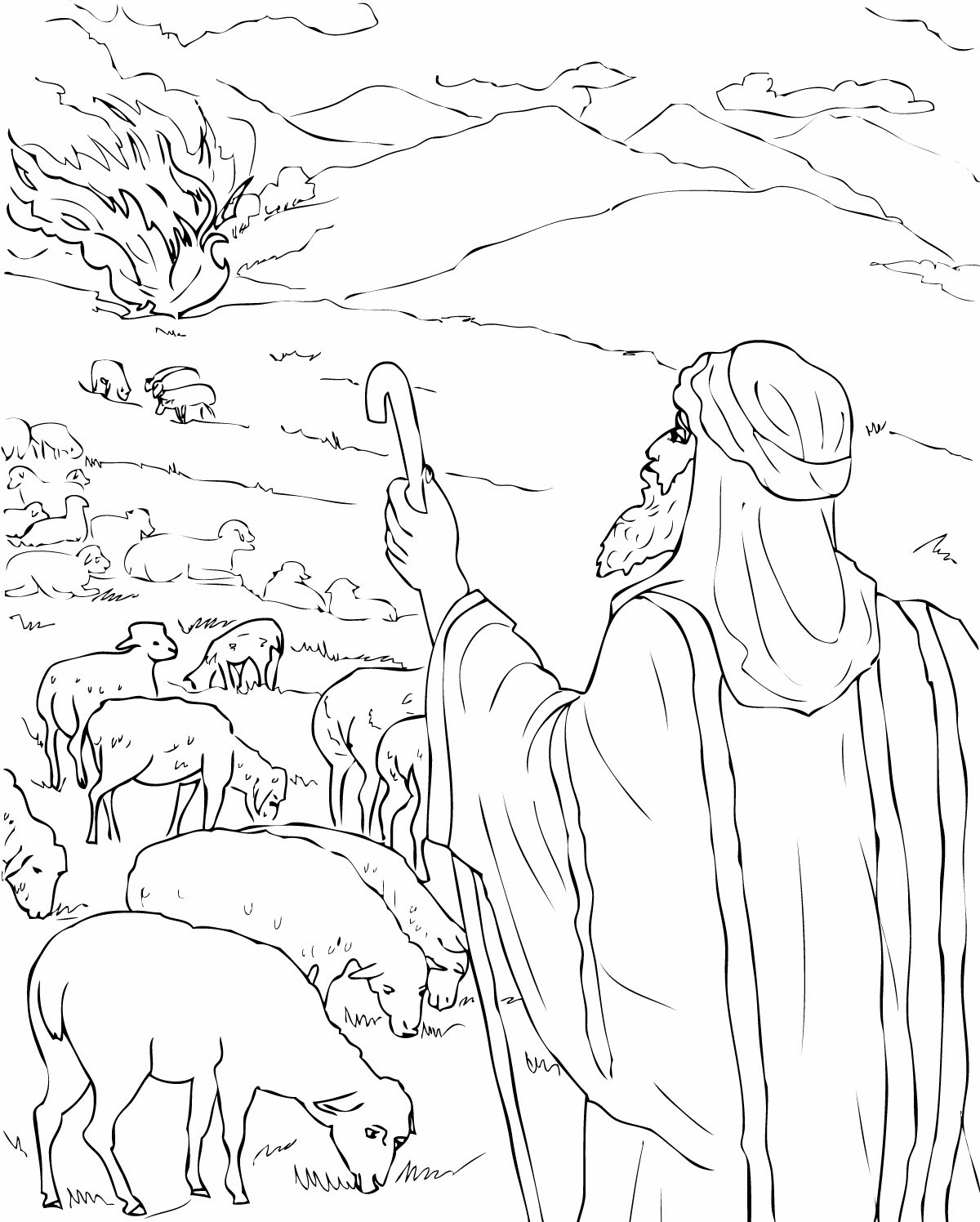 free printable moses coloring pages free printable moses coloring pages for kids free coloring pages moses printable