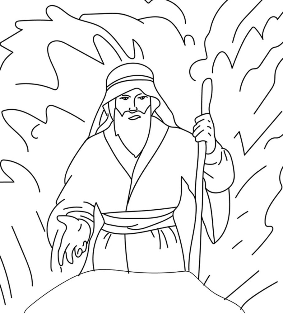 free printable moses coloring pages moses coloring pages free printables momjunction pages printable moses free coloring