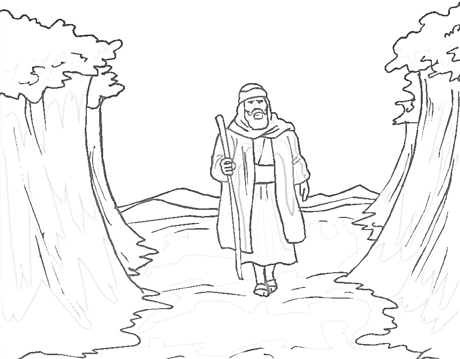 free printable moses coloring pages moses coloring pages kidsuki free moses printable pages coloring