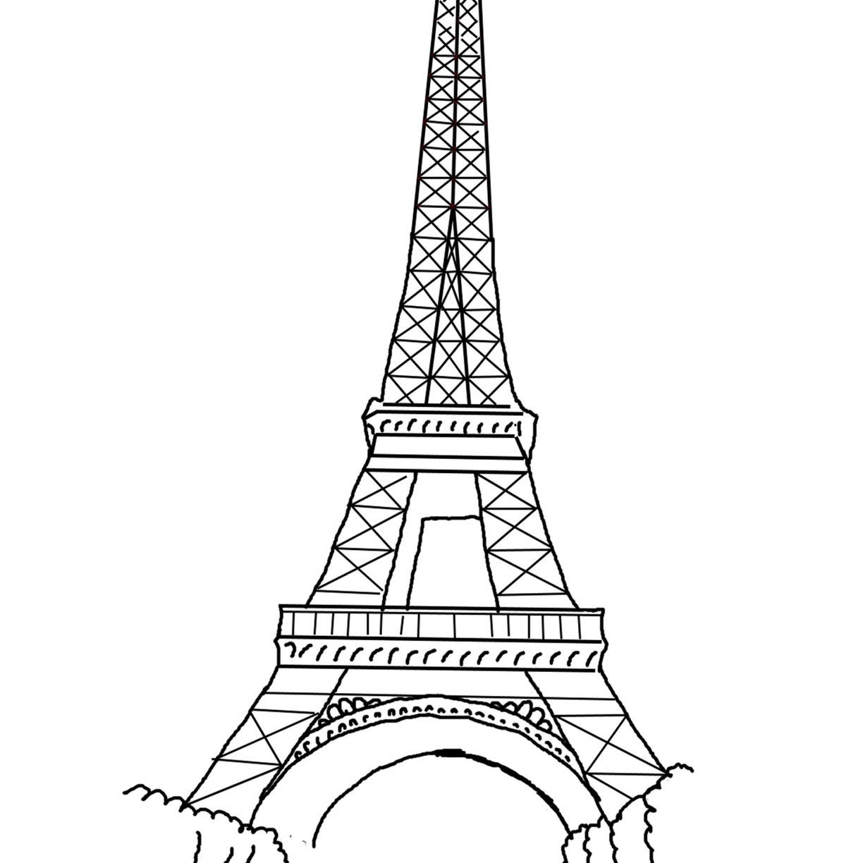 free printable paris coloring pages eiffel tower coloring page at getcoloringscom free printable paris pages free coloring