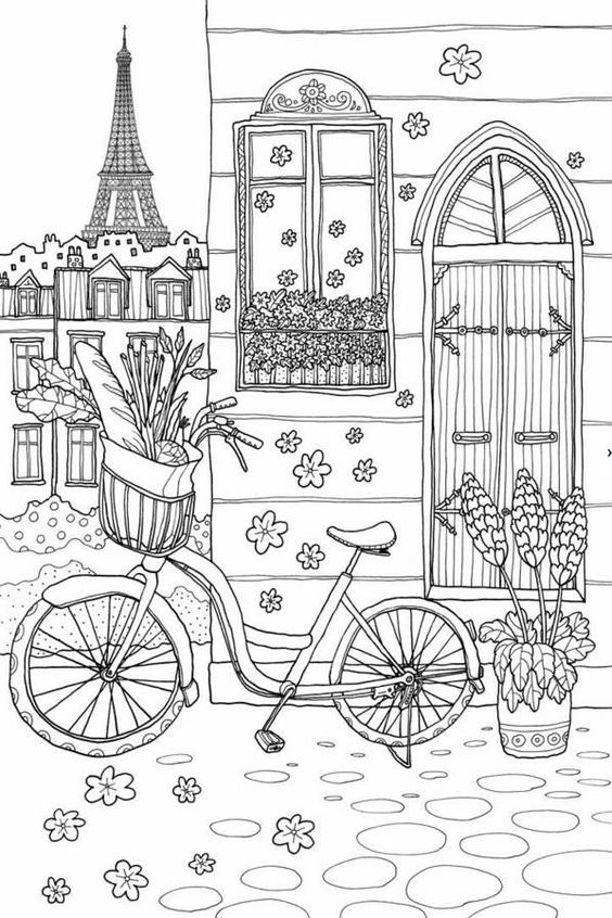 free printable paris coloring pages free adult coloring pages this one is of paris free pages paris free coloring printable