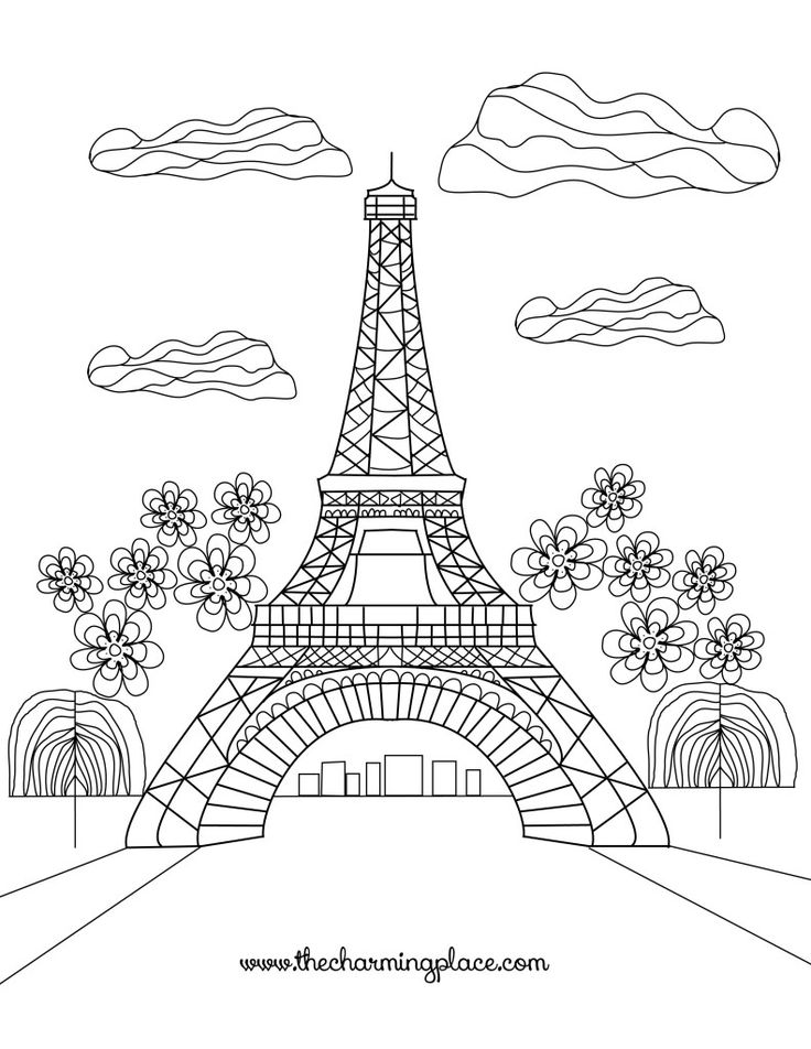 free printable paris coloring pages free printable paris coloring pages pages paris free printable coloring