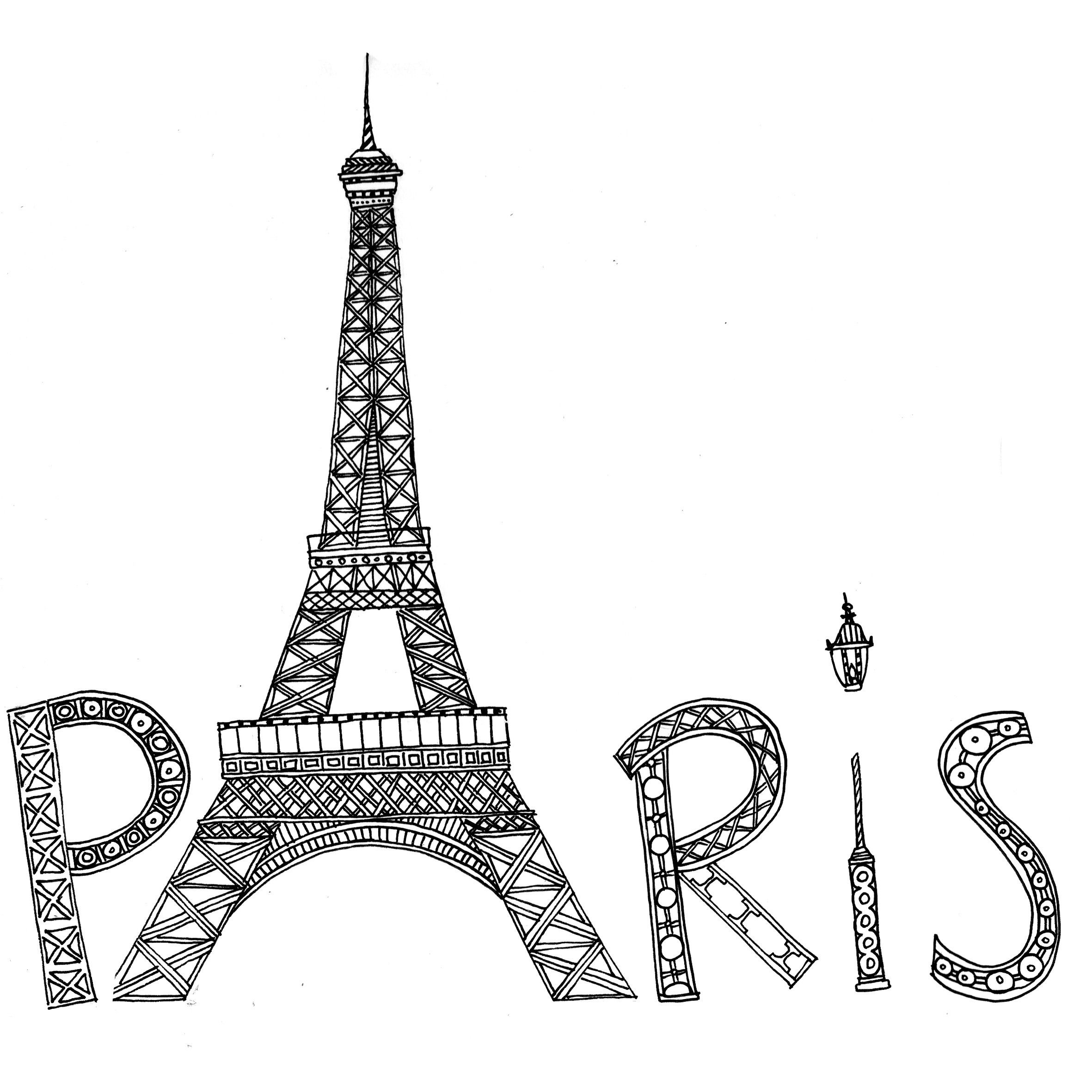 free printable paris coloring pages paris buildings and eiffel tower paris adult coloring pages paris free pages coloring printable