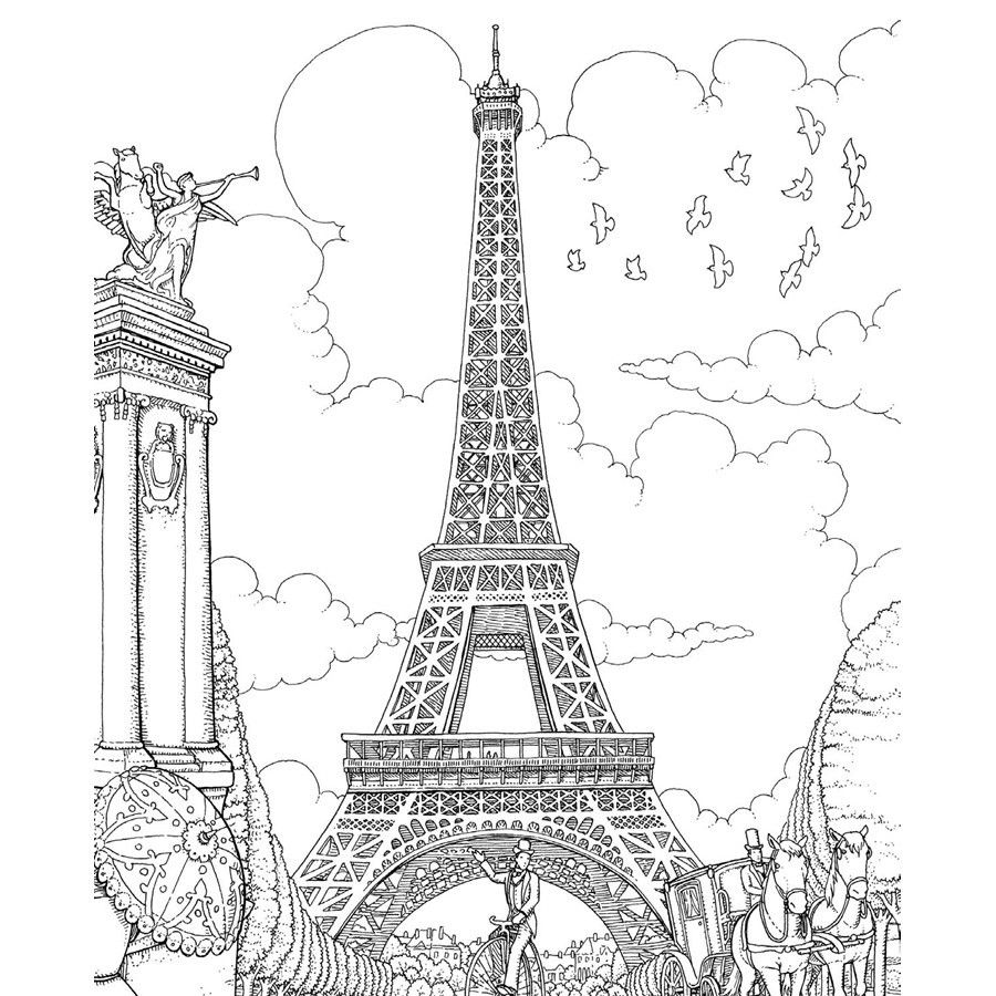 free printable paris coloring pages pin by advika sucheth on àrt with images coloring pages printable paris coloring free
