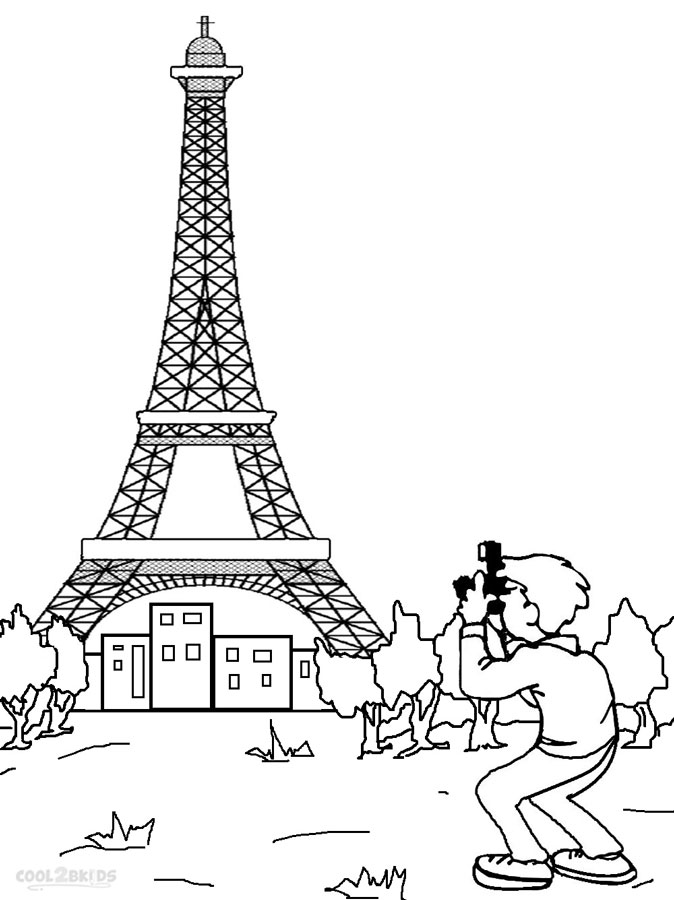 free printable paris coloring pages printable eiffel tower coloring pages for kids cool2bkids coloring printable pages free paris
