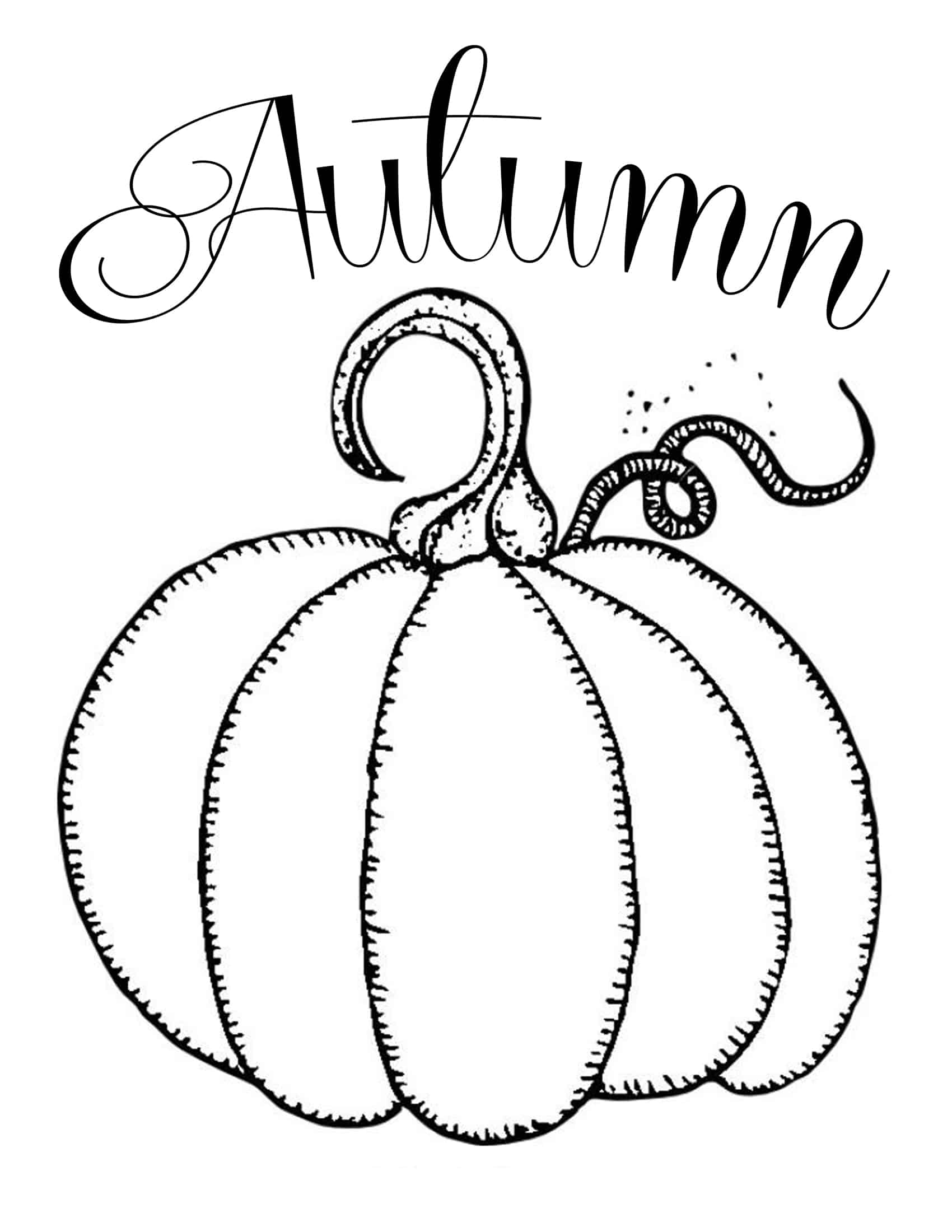 Free printable pictures of pumpkins
