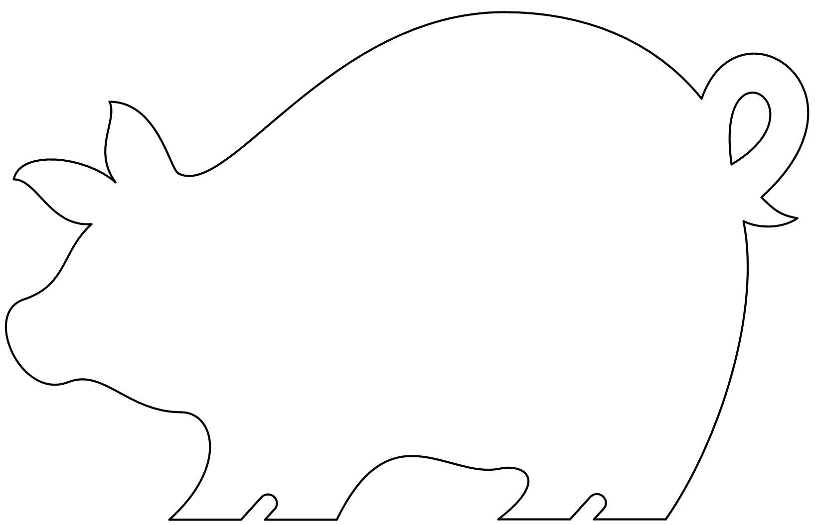 free printable pig template free printable template of pig great for the three little printable pig template free