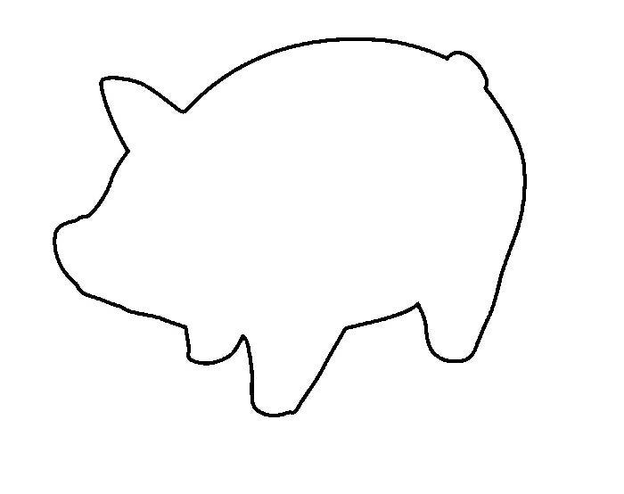 free printable pig template pig template animal templates free premium templates template pig printable free