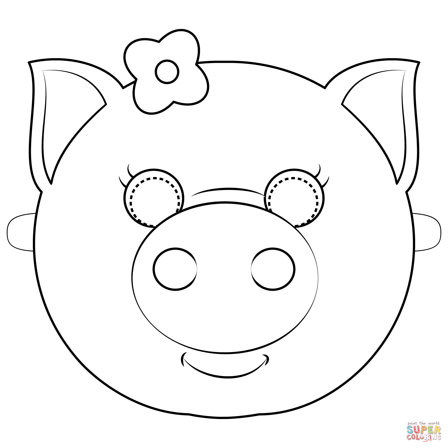 free printable pig template printable template to print color and make pig face use printable pig template free