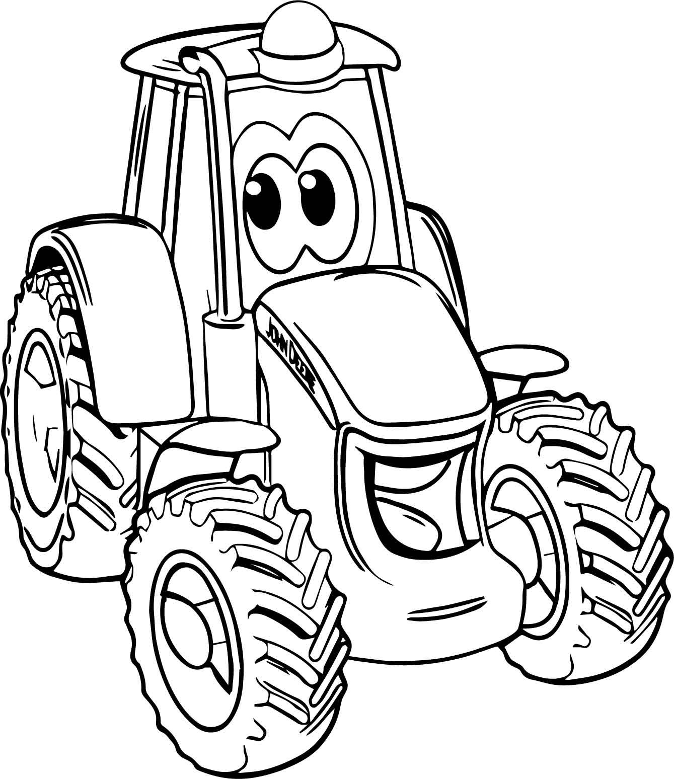 free printable tractor coloring pages free tractor images free download free clip art free pages free tractor coloring printable