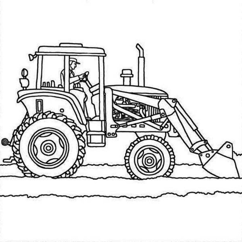 free printable tractor coloring pages tractor coloring pages to download and print for free pages coloring tractor printable free