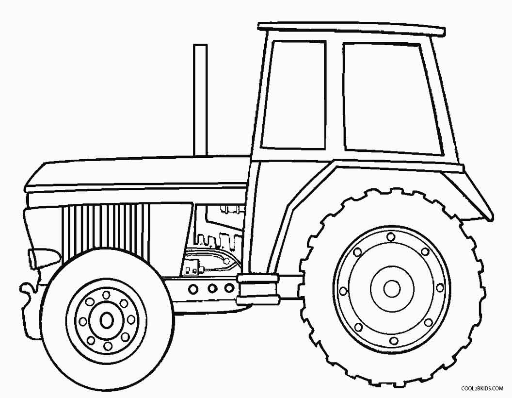 free printable tractor coloring pages tractor coloring pages to download and print for free pages printable tractor coloring free
