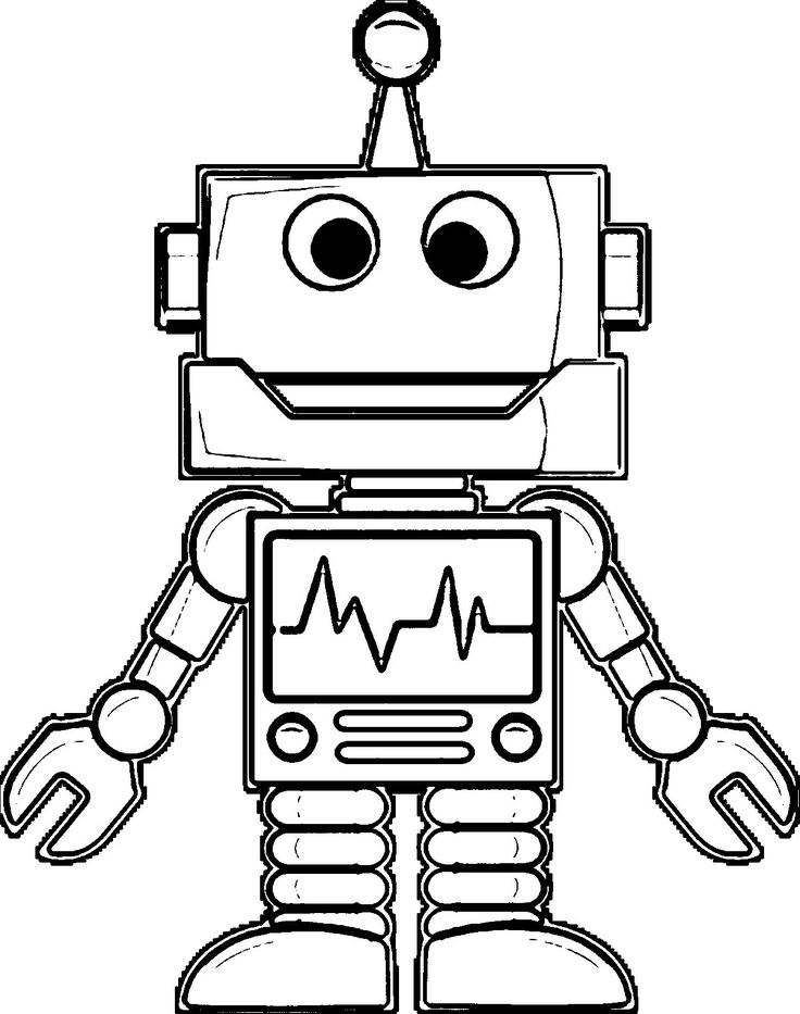 free robot coloring pages free printable robot coloring pages for kids pages robot free coloring