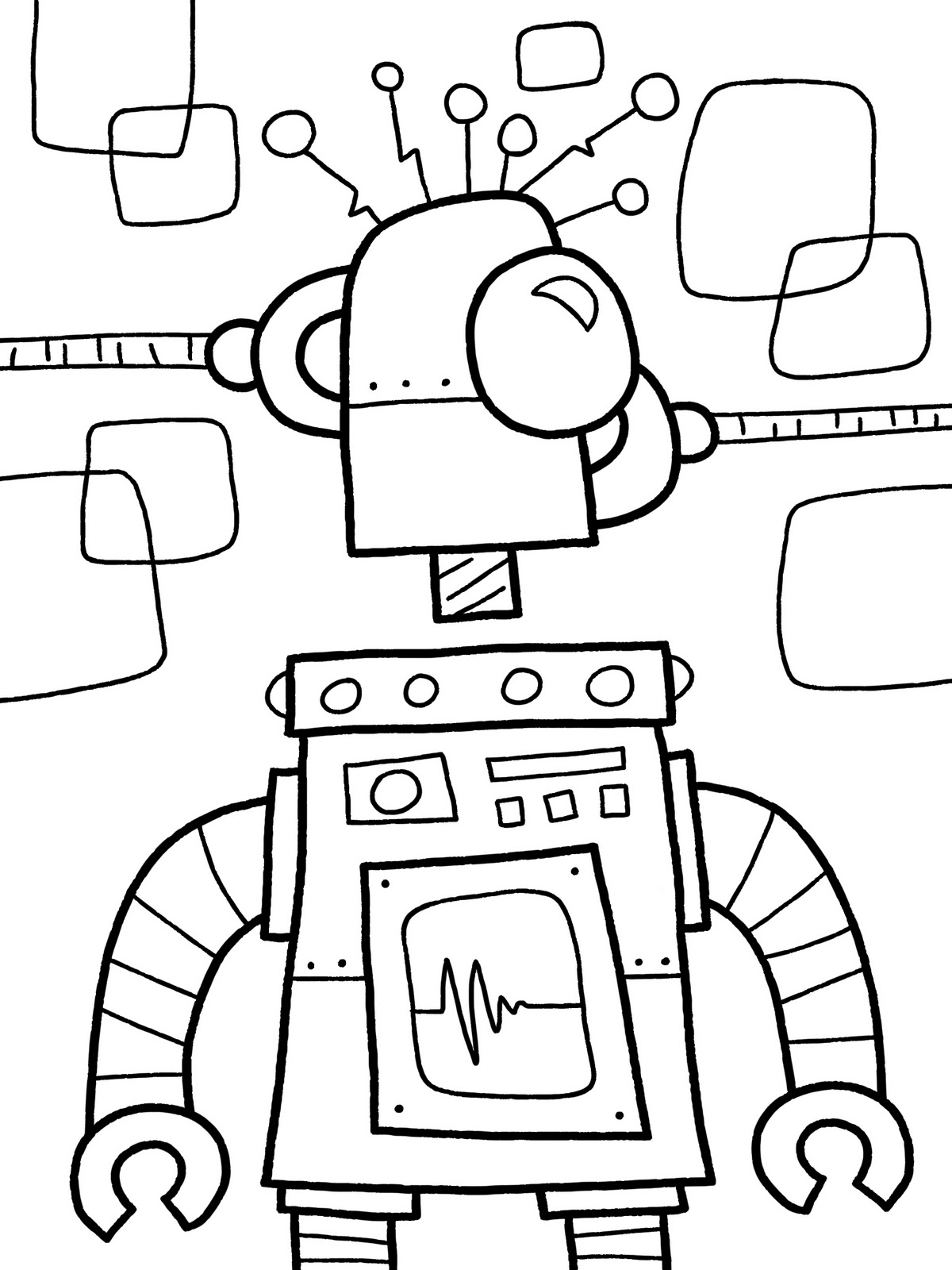 free robot coloring pages image robot pour coloriage free to print free robot pages coloring