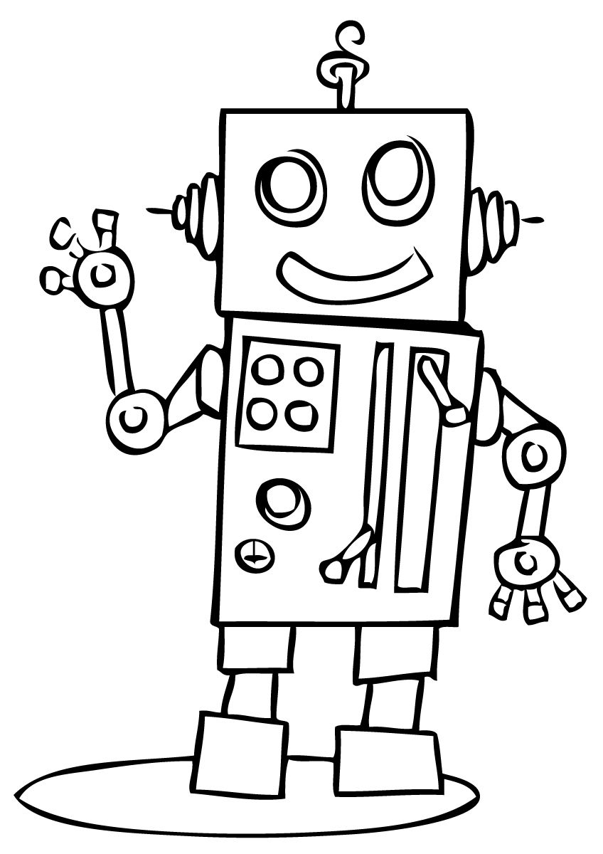 free robot coloring pages robot coloring pages free printable coloring pages for coloring robot free pages