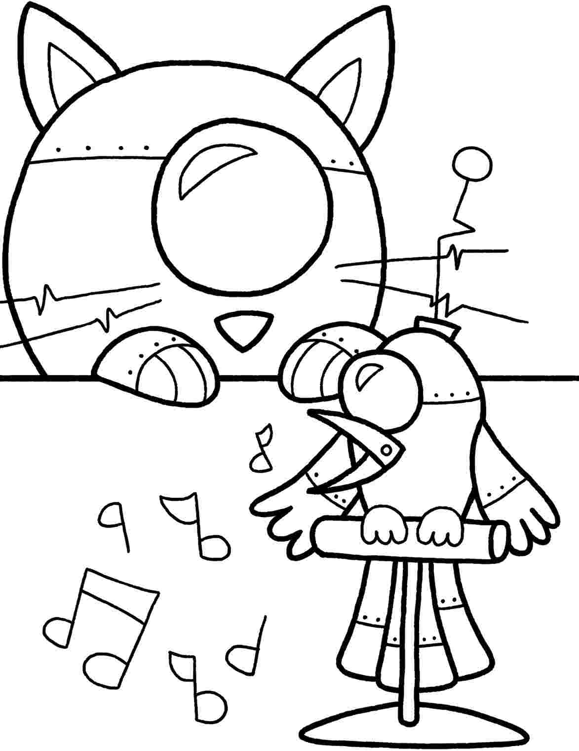 free robot coloring pages robot images free clipartsco free robot pages coloring