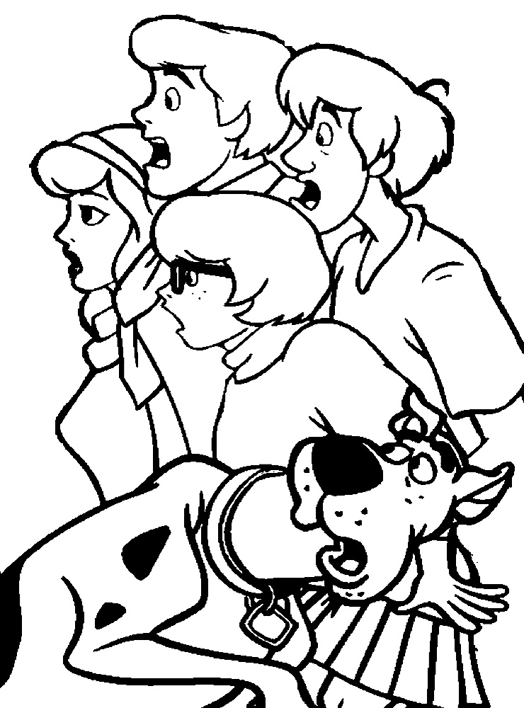 free scooby doo coloring pages scooby doo coloring pages for childrens printable for free coloring scooby doo free pages