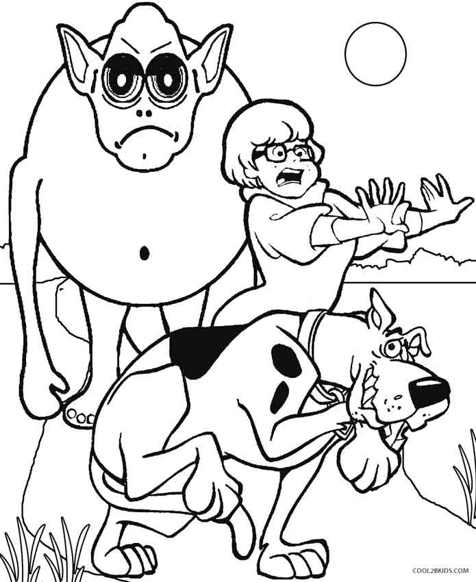 free scooby doo coloring pages scrappy doo coloring pages at getcoloringscom free scooby coloring pages free doo