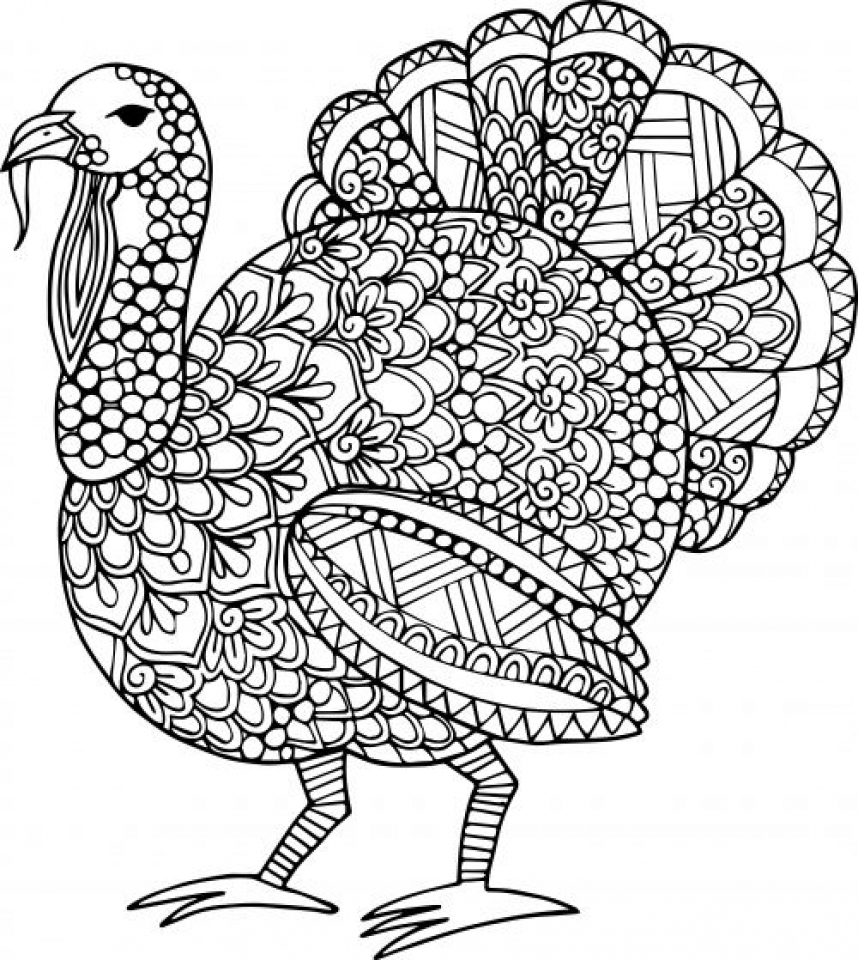 free turkey coloring pages get this turkey coloring pages for adults 31218 turkey coloring pages free
