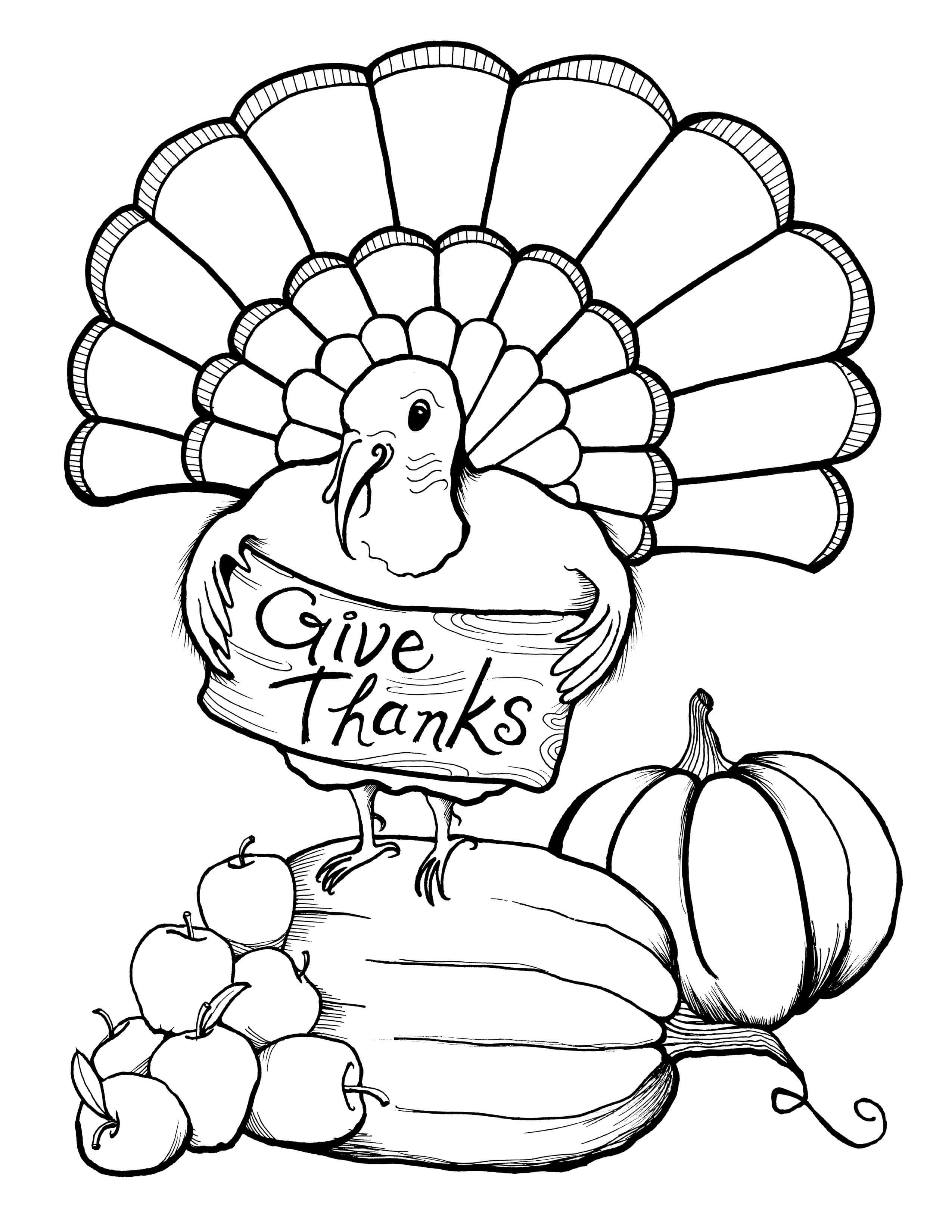 free turkey coloring pages turkey leg coloring page at getcoloringscom free coloring free pages turkey