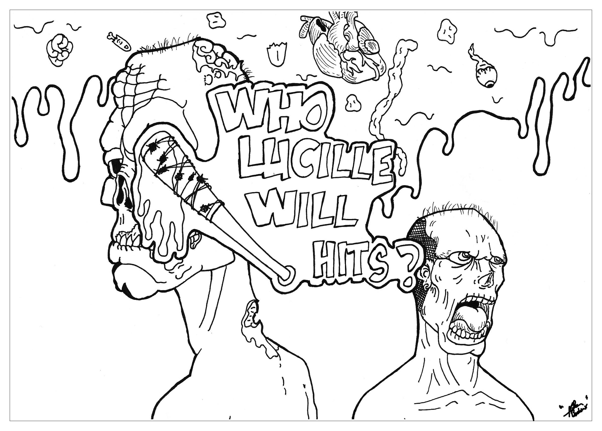 free walking dead coloring pages 42 best images about walking dead coloring book on pages free dead coloring walking