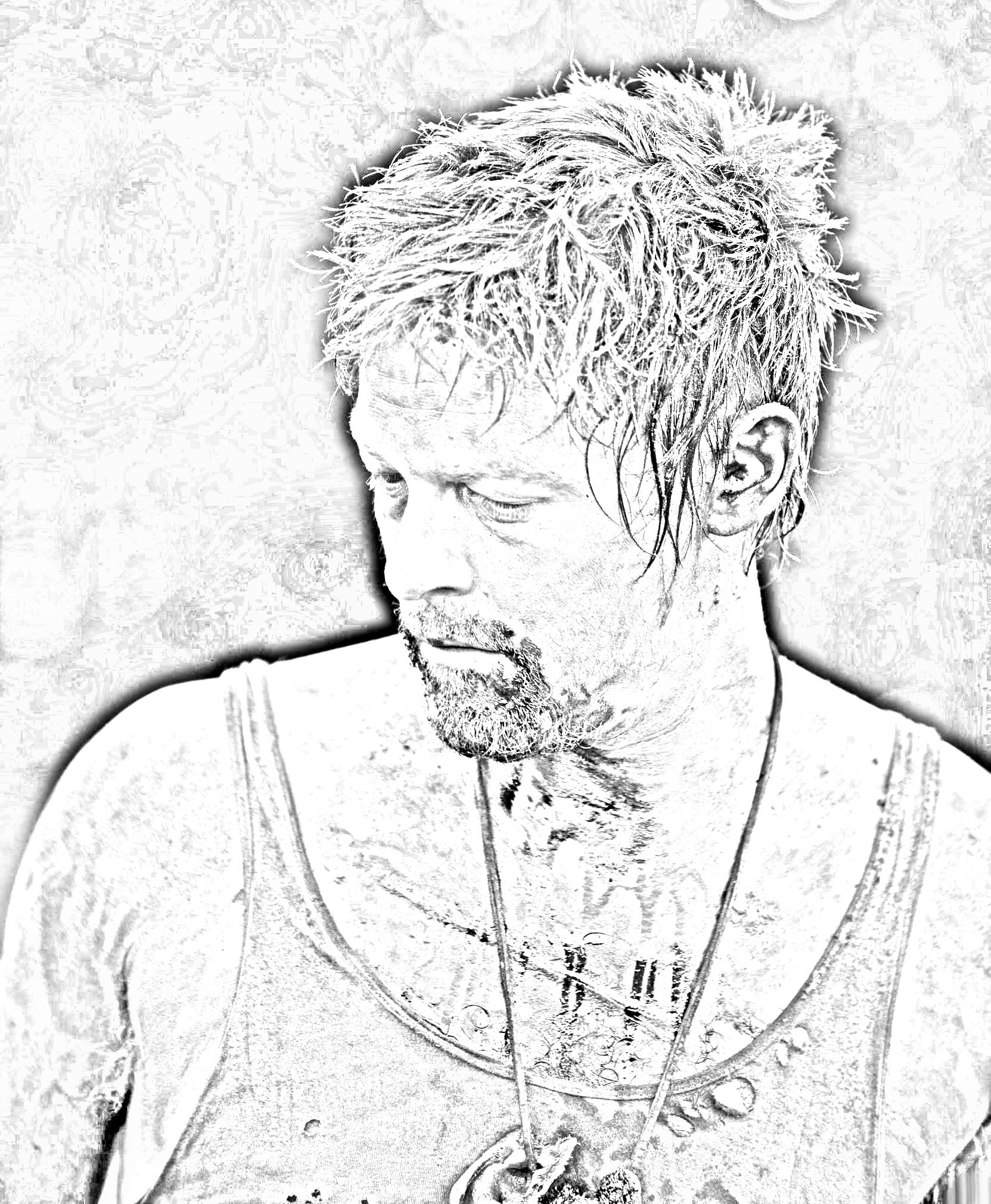 free walking dead coloring pages the walking dead coloring pages daryl walking dead coloring dead pages free walking