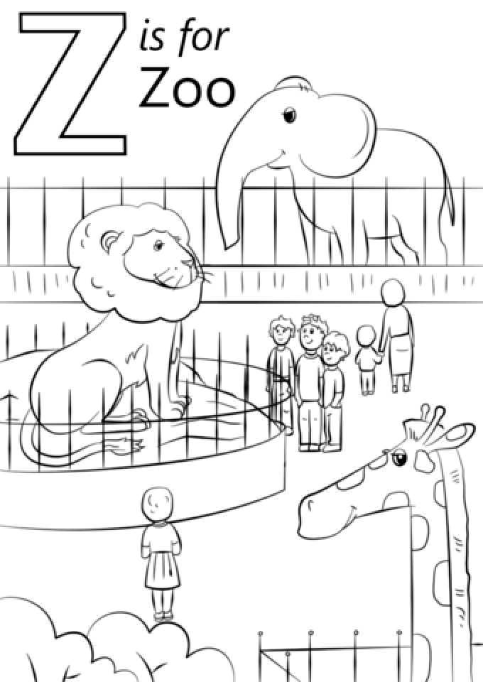 free zoo coloring pages free printable zoo coloring pages for kids free zoo coloring pages