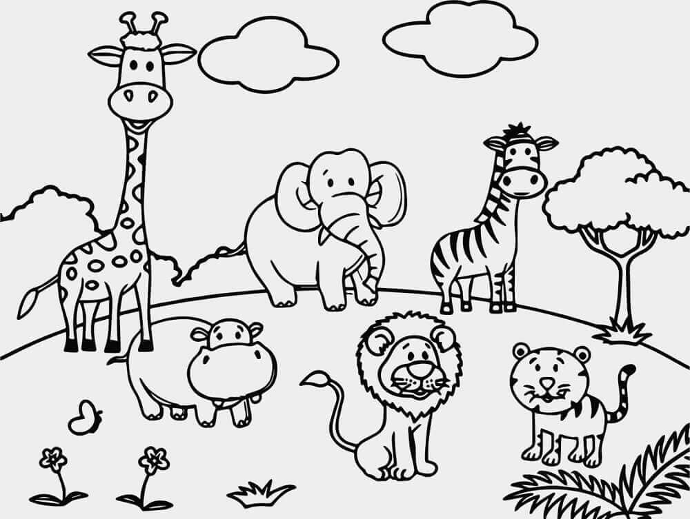 free zoo coloring pages get this printable zoo coloring pages for kids 5176 zoo free coloring pages