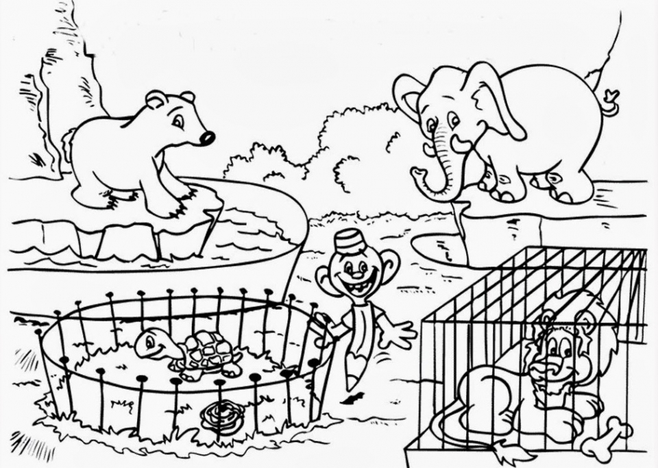 free zoo coloring pages zoo coloring pages for preschoolers at getcoloringscom zoo free pages coloring