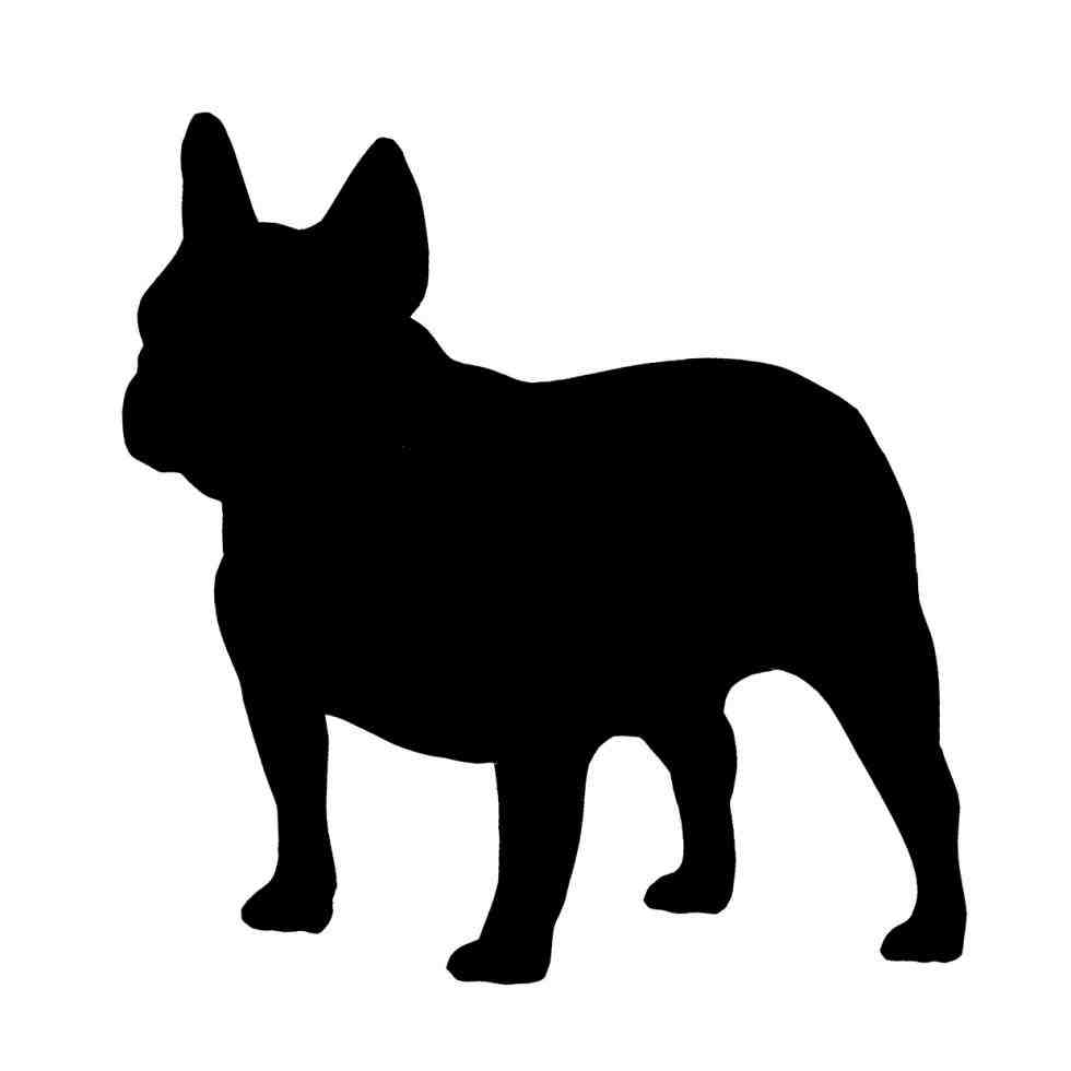 french bulldog silhouette transparent dog and cat outline french bulldog silhouette