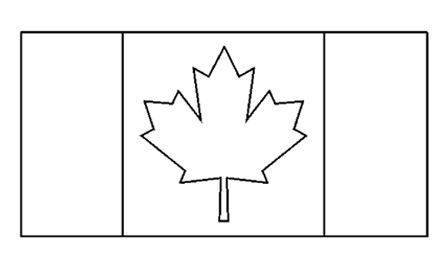 french flag to colour template canadian flag free printable colouring pages flag to colour template french
