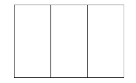 French flag to colour template