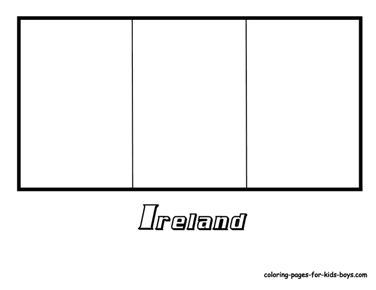 french flag to colour template colouring for kids ireland flag culture class template to flag french colour